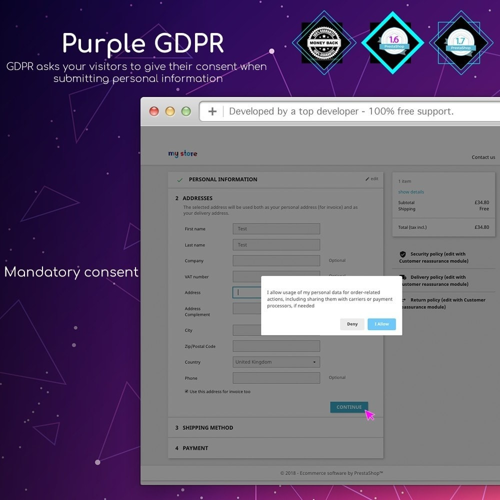 module - Marco Legal (Ley Europea) - Purple GDPR - 9