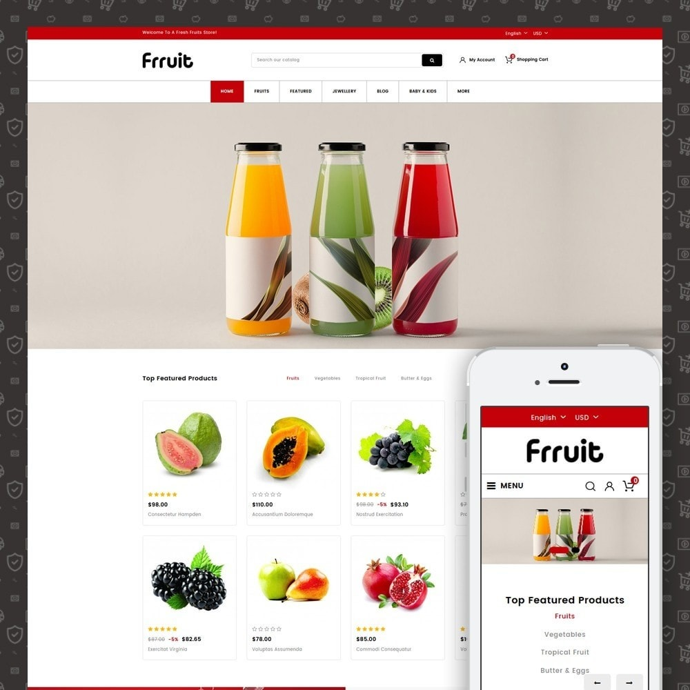 Fresh Fruits Store