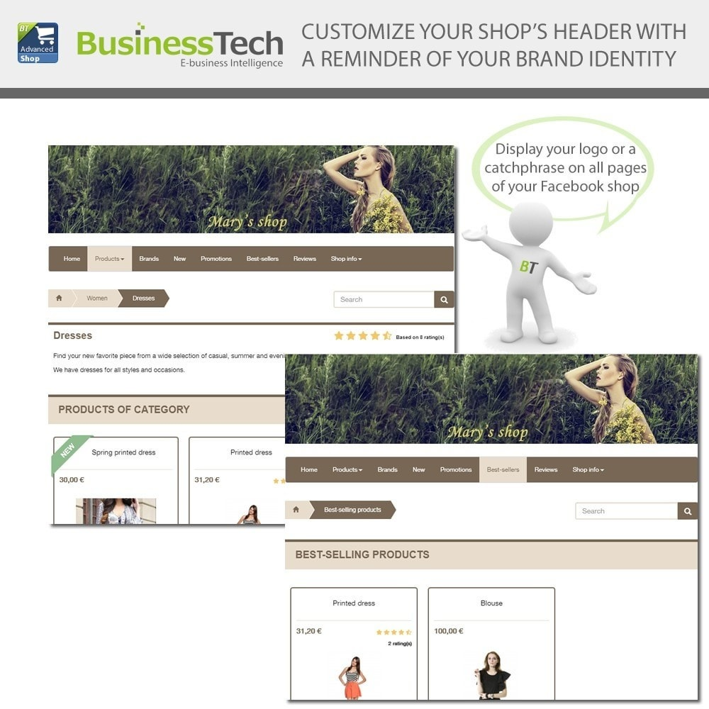 bundle - Social Widgets - Social BusinessTech Bundle - 4