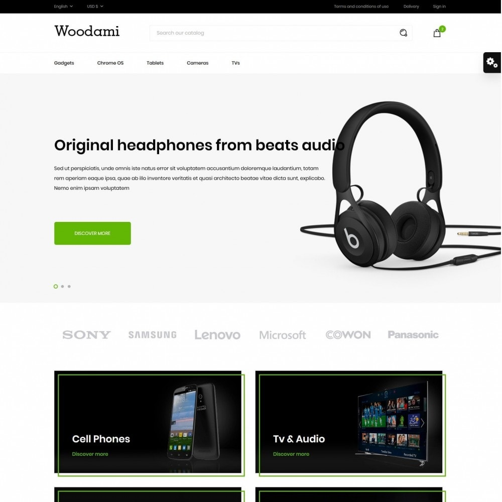 theme - Electronics & Computers - Woodami - High-tech Shop - 2