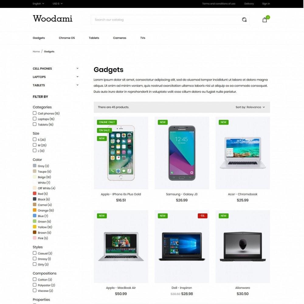 theme - Electronics & Computers - Woodami - High-tech Shop - 5