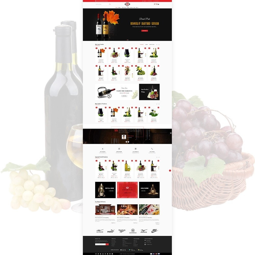 Red Wine - Natural Wine Shop