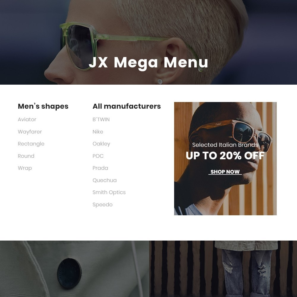 theme - Jewelry & Accessories - Kley - Sunglasses Store - 4