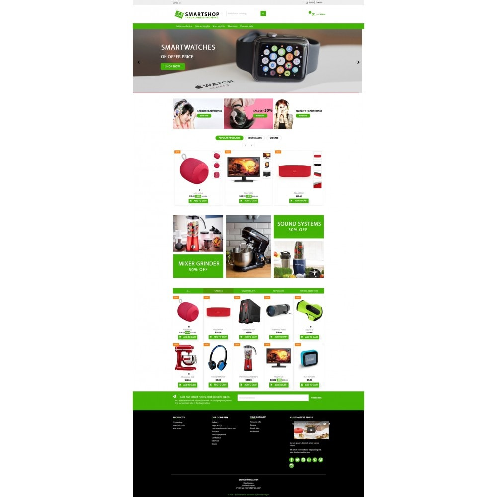 Smartshop Responsive premium GB108