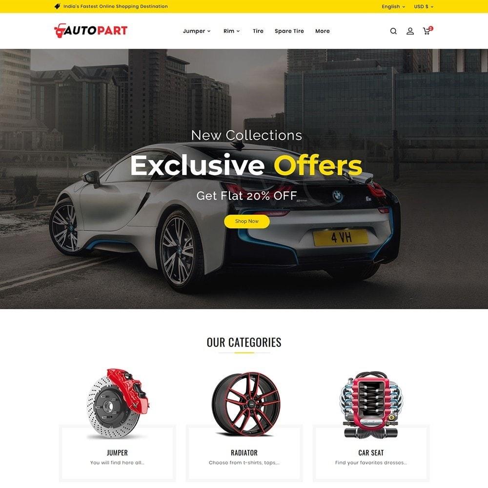 theme - Automotive & Cars - Auto Parts & Garage - 2