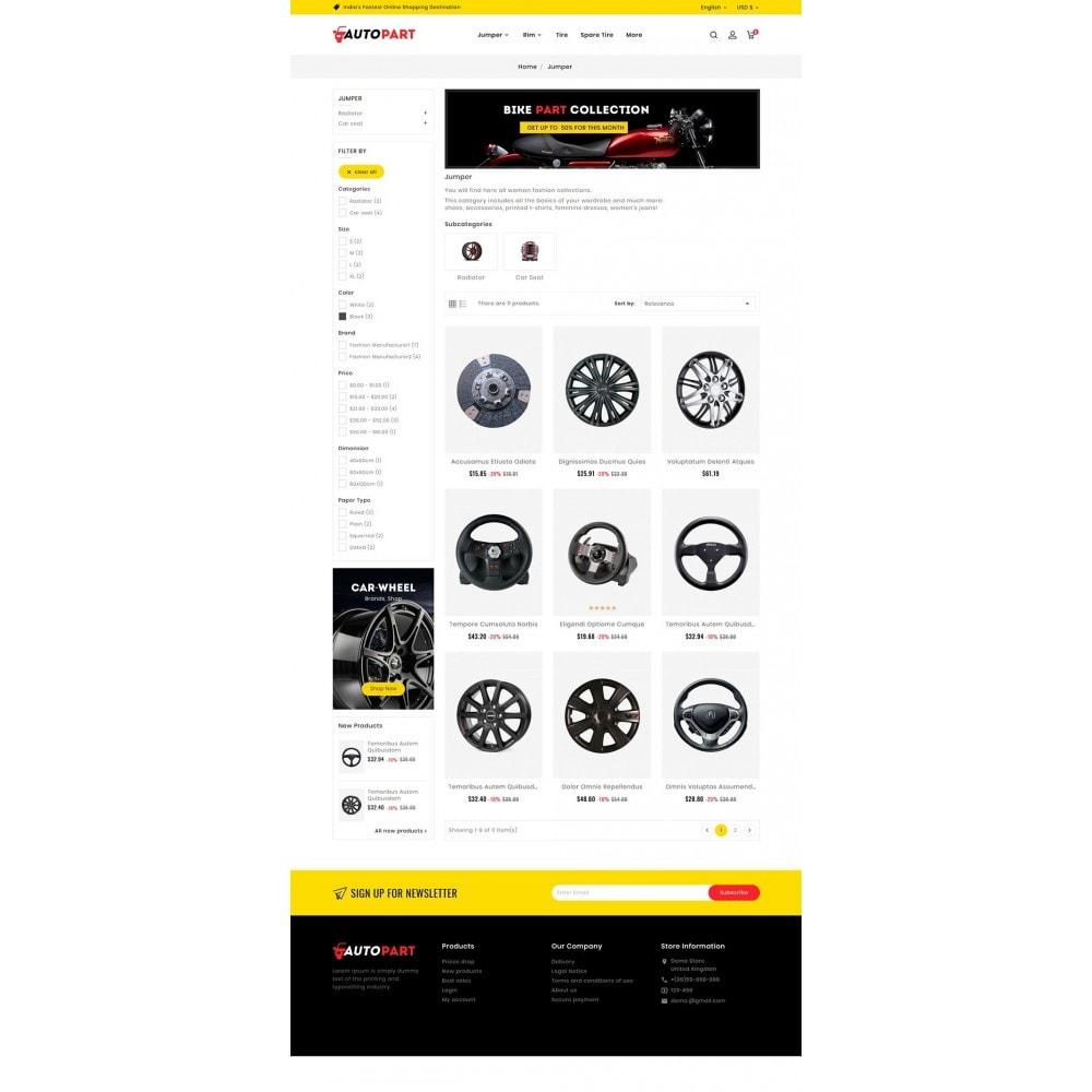 theme - Automotive & Cars - Auto Parts & Garage - 5