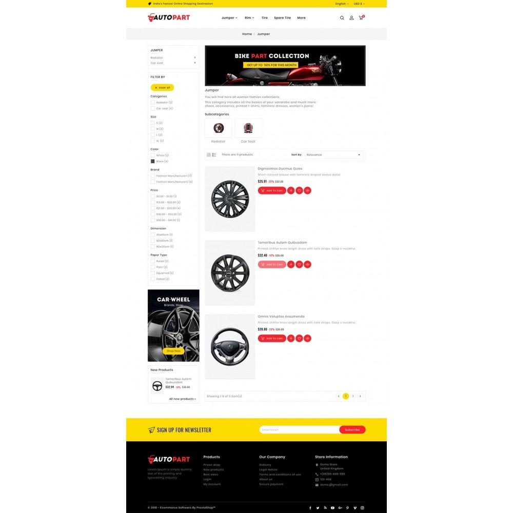 theme - Automotive & Cars - Auto Parts & Garage - 6