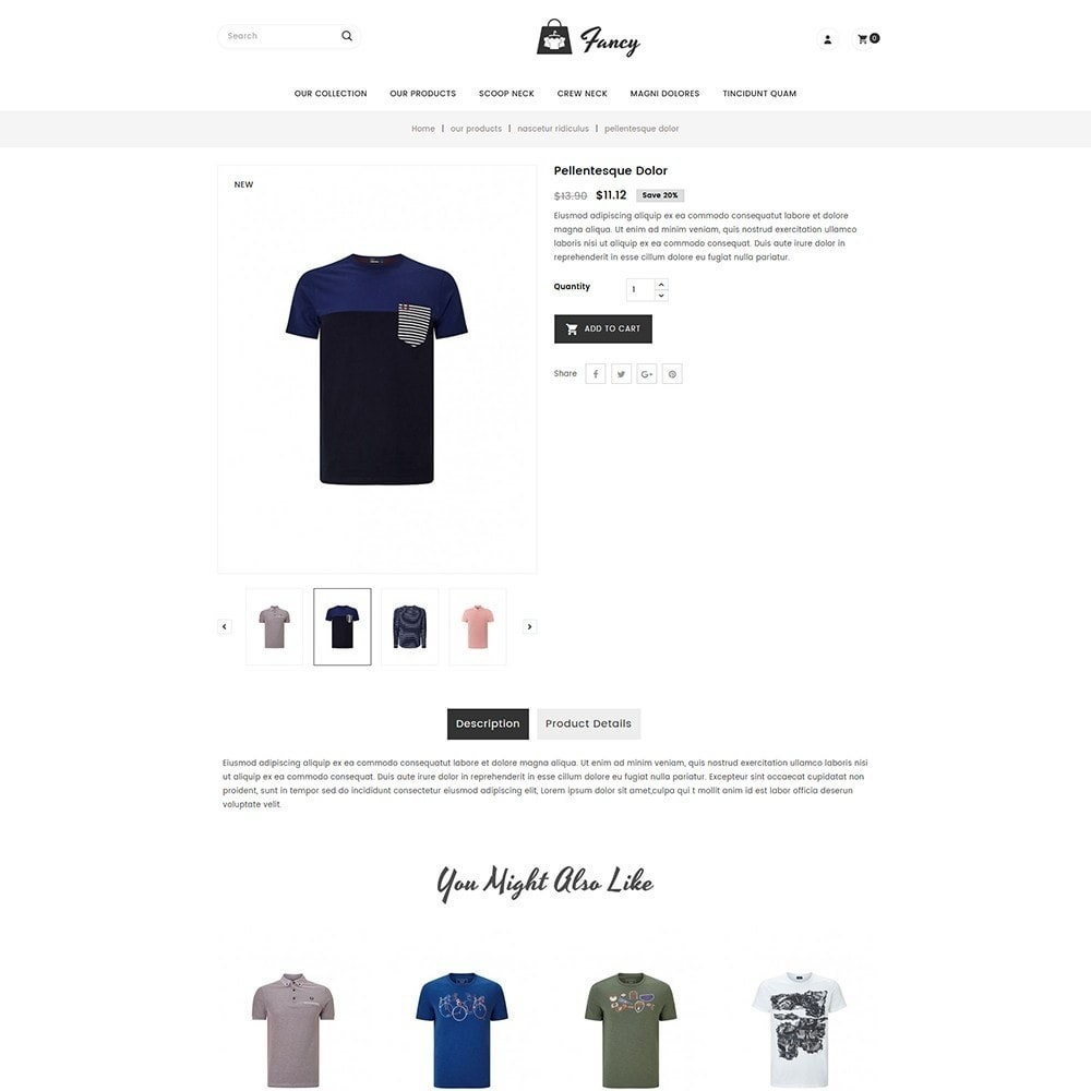 theme - Fashion & Shoes - Fancy Fashion Store - 5