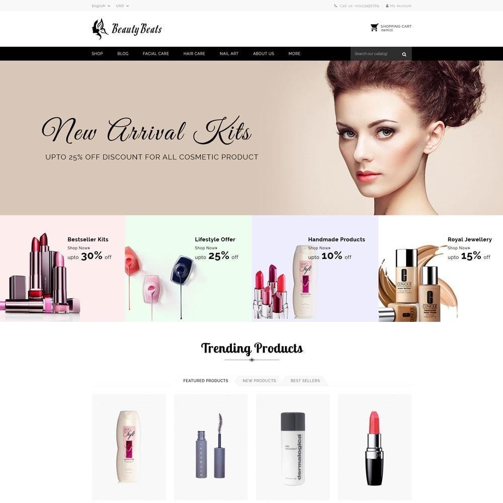 theme - Saúde & Beleza - Beauty Beats - The Beauty Shop - 2