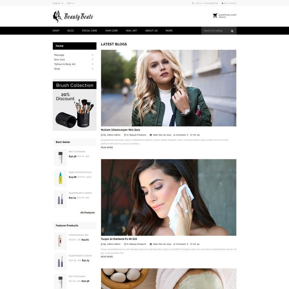 theme - Saúde & Beleza - Beauty Beats - The Beauty Shop - 7