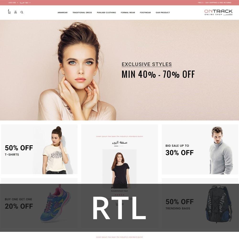 theme - Fashion & Shoes - OnTrackFashion - The fashion Hub - 3