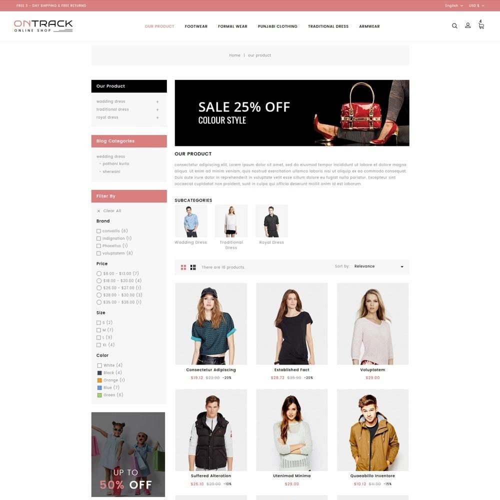 theme - Fashion & Shoes - OnTrackFashion - The fashion Hub - 4