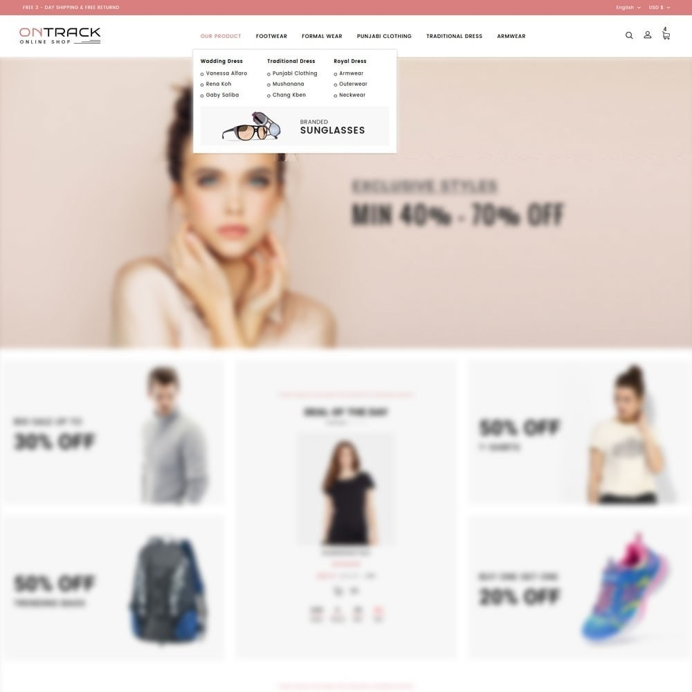 theme - Fashion & Shoes - OnTrackFashion - The fashion Hub - 8