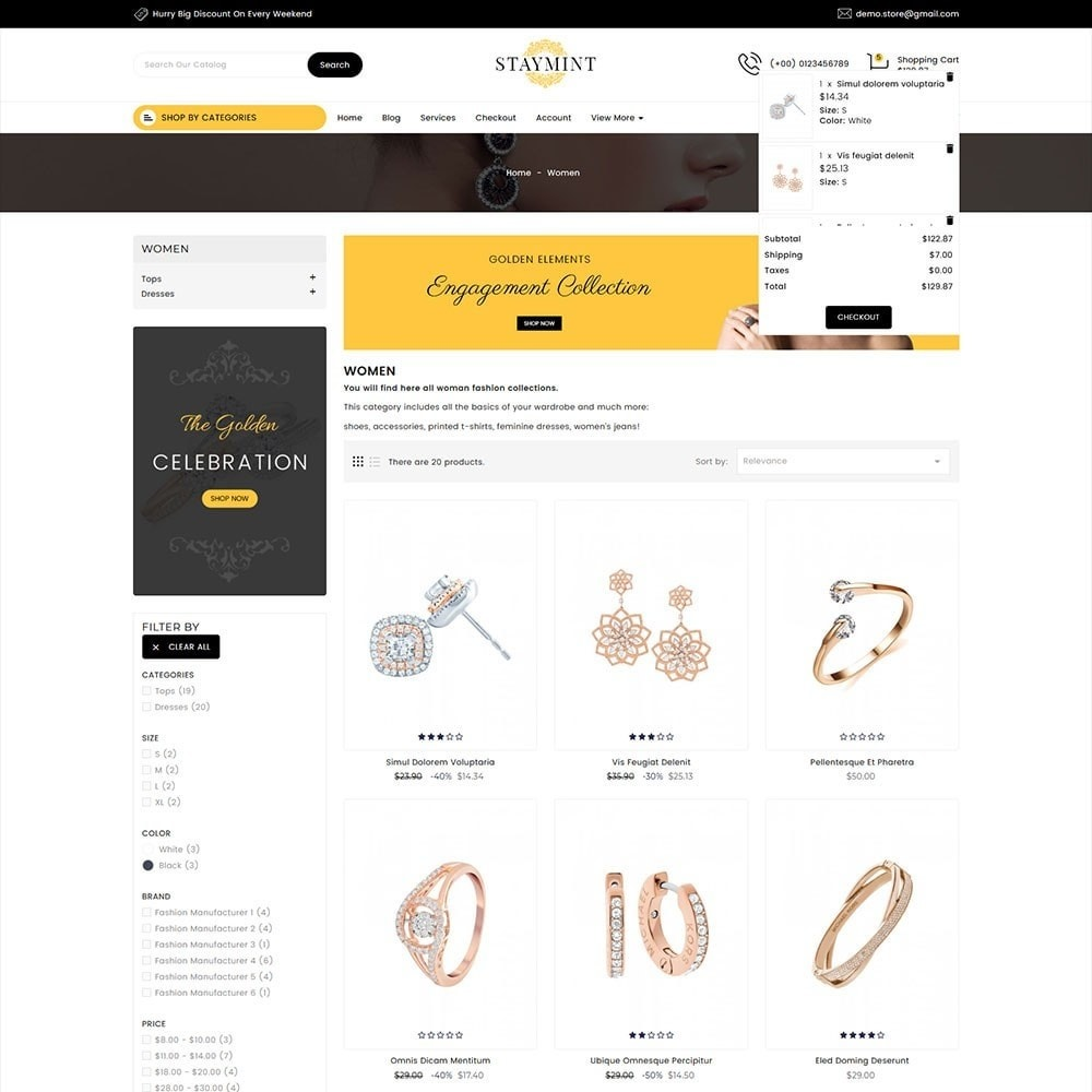 Staymint Jewellery Store