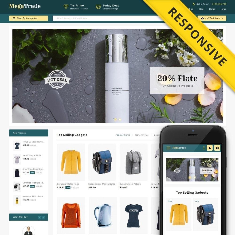 theme - Fashion & Shoes - Mega Trade - Multi Store - 1