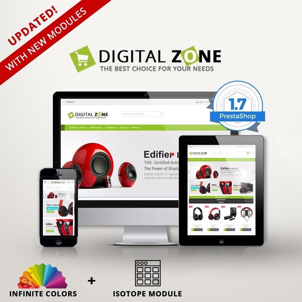 Digitalzone Multi-purpose HTML5