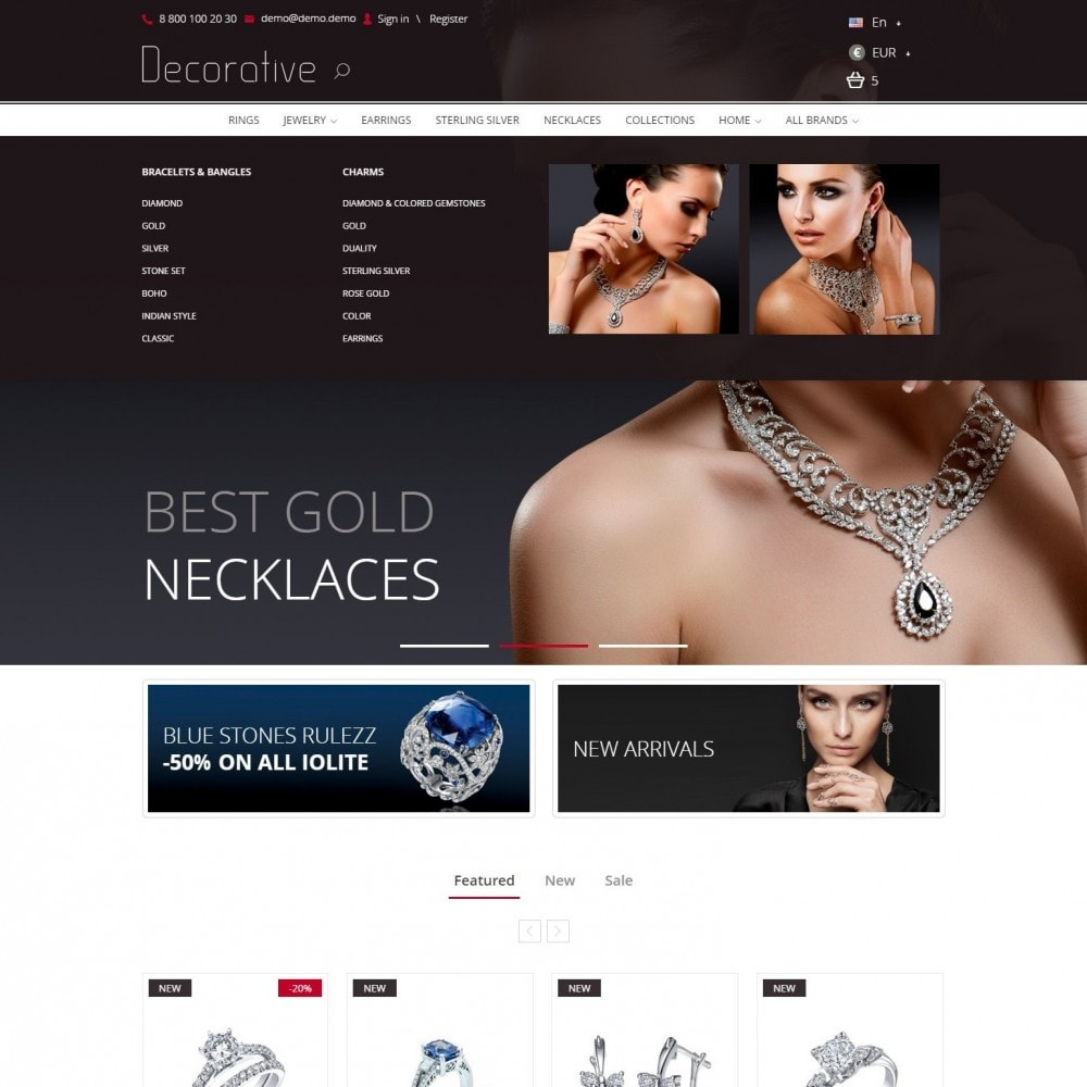 Luxury Jewelry Store