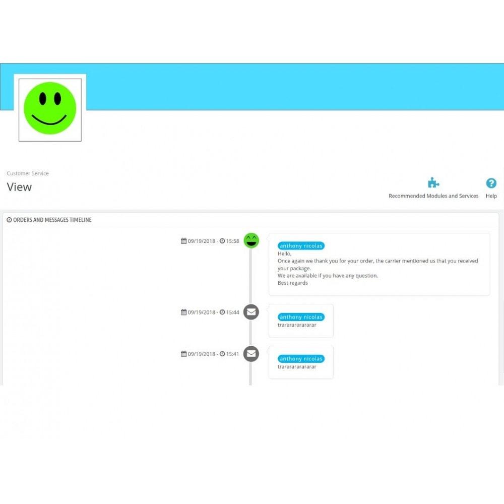 module - Formulario de contacto y Sondeos - Smileys Customer Satisfaction Survey - 6