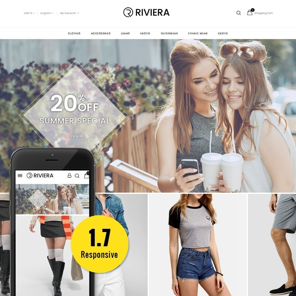 Rivera Fashion Store