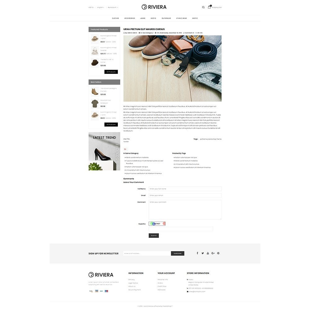 theme - Fashion & Shoes - Rivera Fashion Store - 6