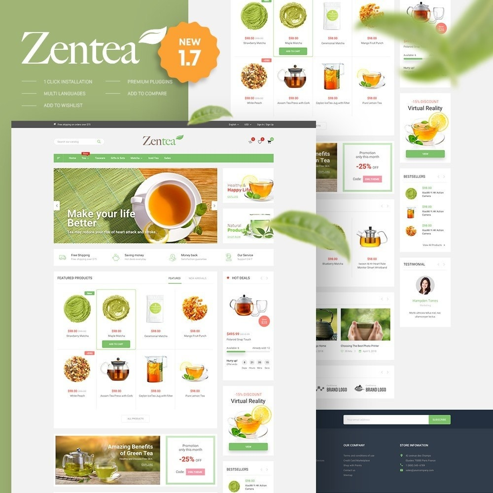Zentea - Health & Beauty
