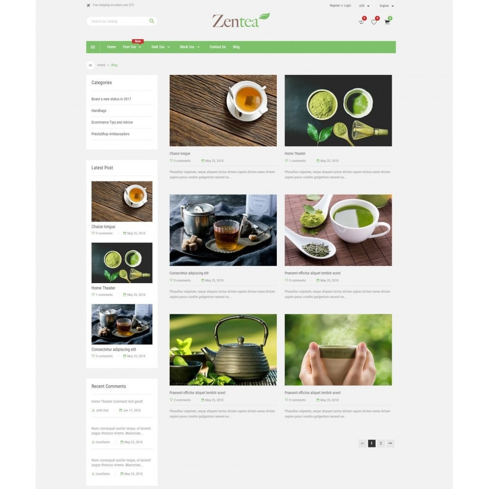 theme - Alimentos & Restaurantes - Zentea - Health & Beauty - 5
