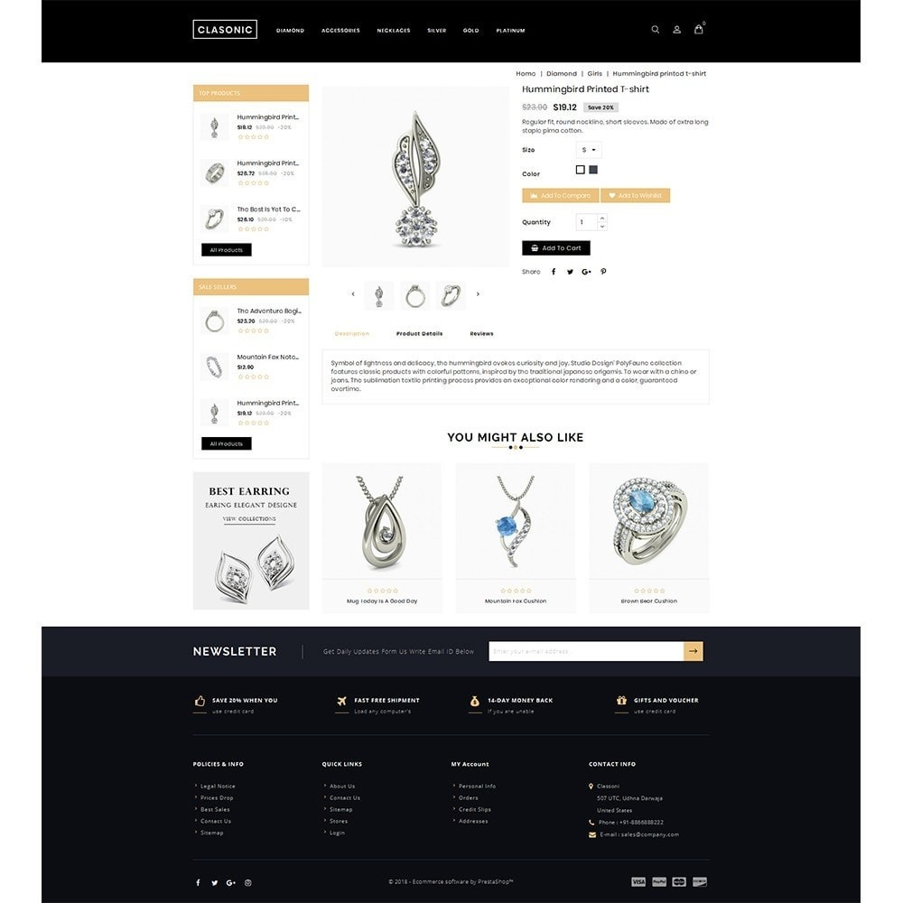 theme - Bijoux & Accessoires - Classoni Store - 5