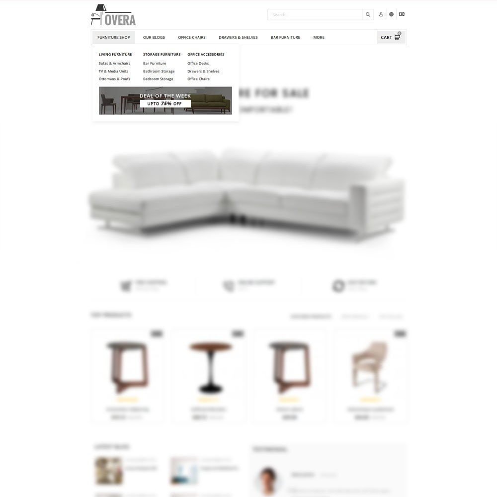 theme - Home & Garden - Hovera Furniture Store - 8