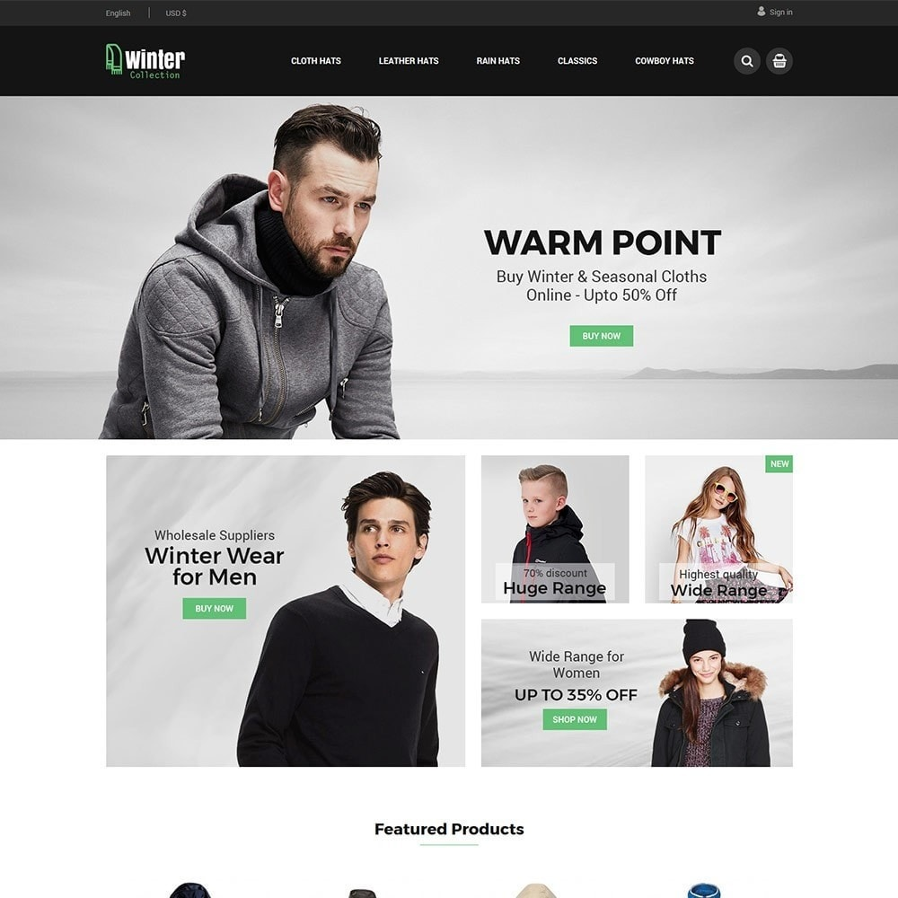 Winter Cloth - Fashion Store
