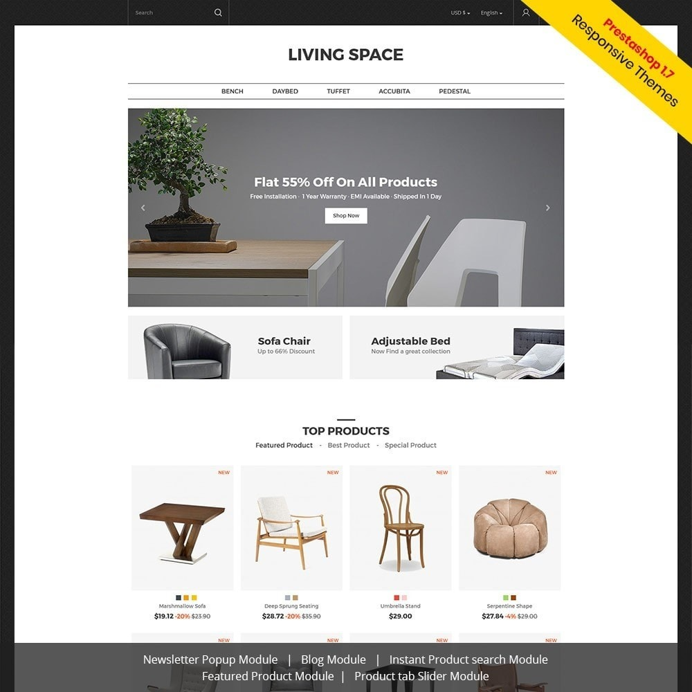 Living - Magasin de meubles