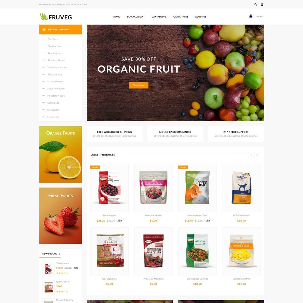 Fruveg - The Grocery Store