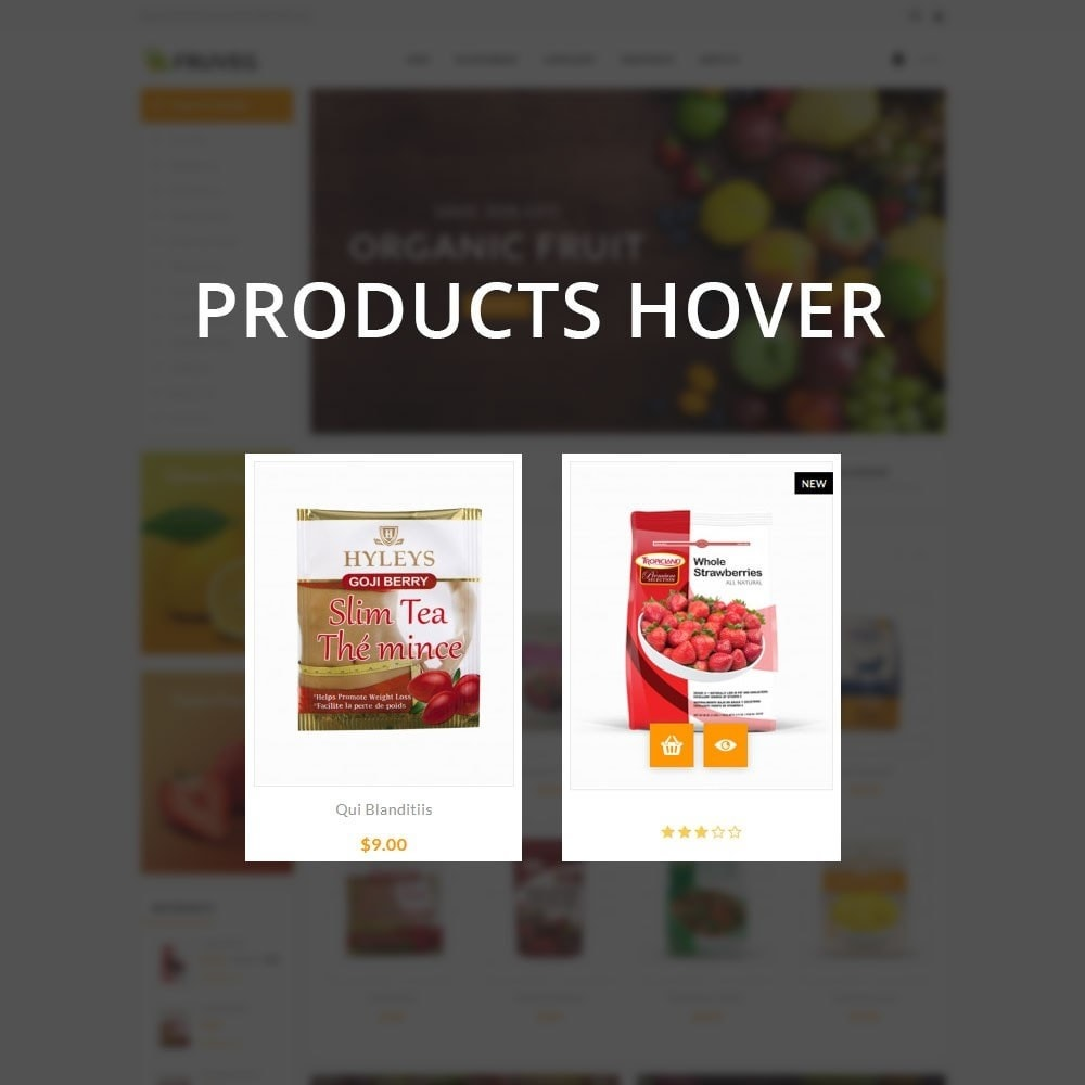 theme - Food & Restaurant - Fruveg - The Grocery Store - 11
