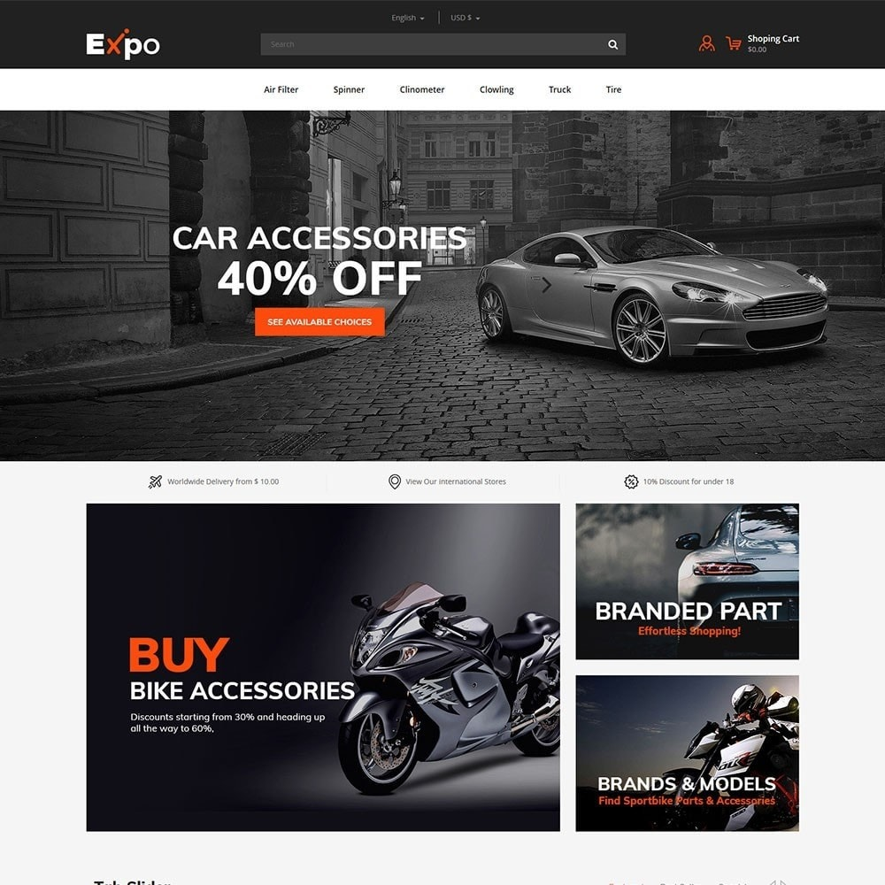 Herramienta - Auto Store