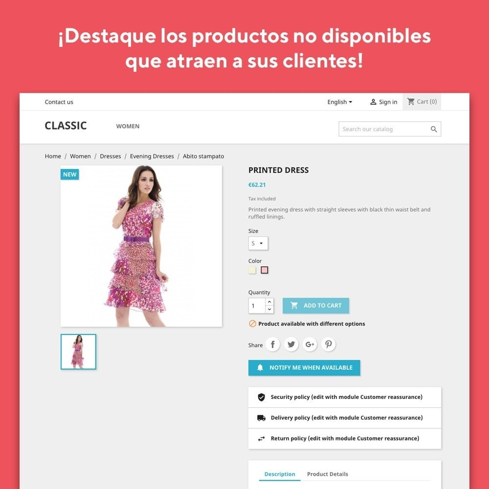 module - E-mails y Notificaciones - Mr Shop Mail Alerts - 2