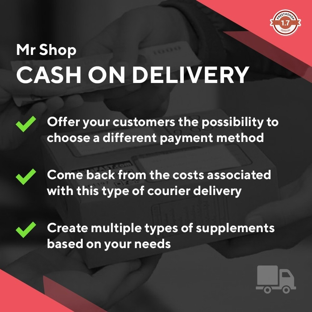 module - Cash On Delivery (COD) - Mr Shop Cash on Delivery - 1