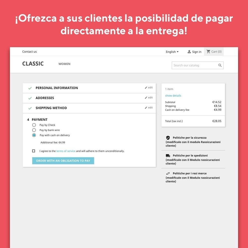 module - Pago a la Entrega (contrarrembolso) - Mr Shop Cash on Delivery - 2