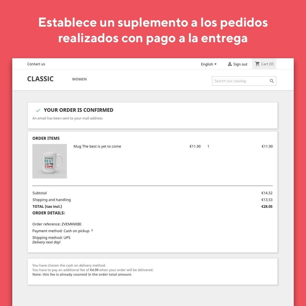 module - Pago a la Entrega (contrarrembolso) - Mr Shop Cash on Delivery - 3