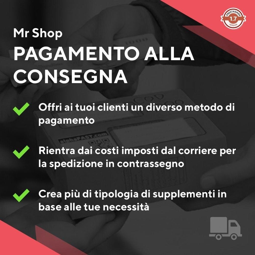 module - Pagamento alla Consegna (in contrassegno) - Mr Shop Pagamento alla consegna - 1
