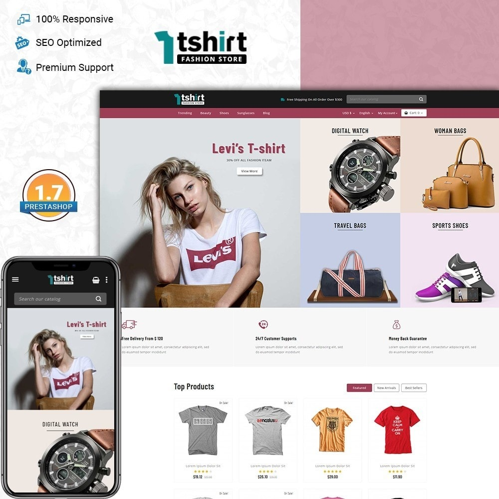 Tshirt - Fashion store