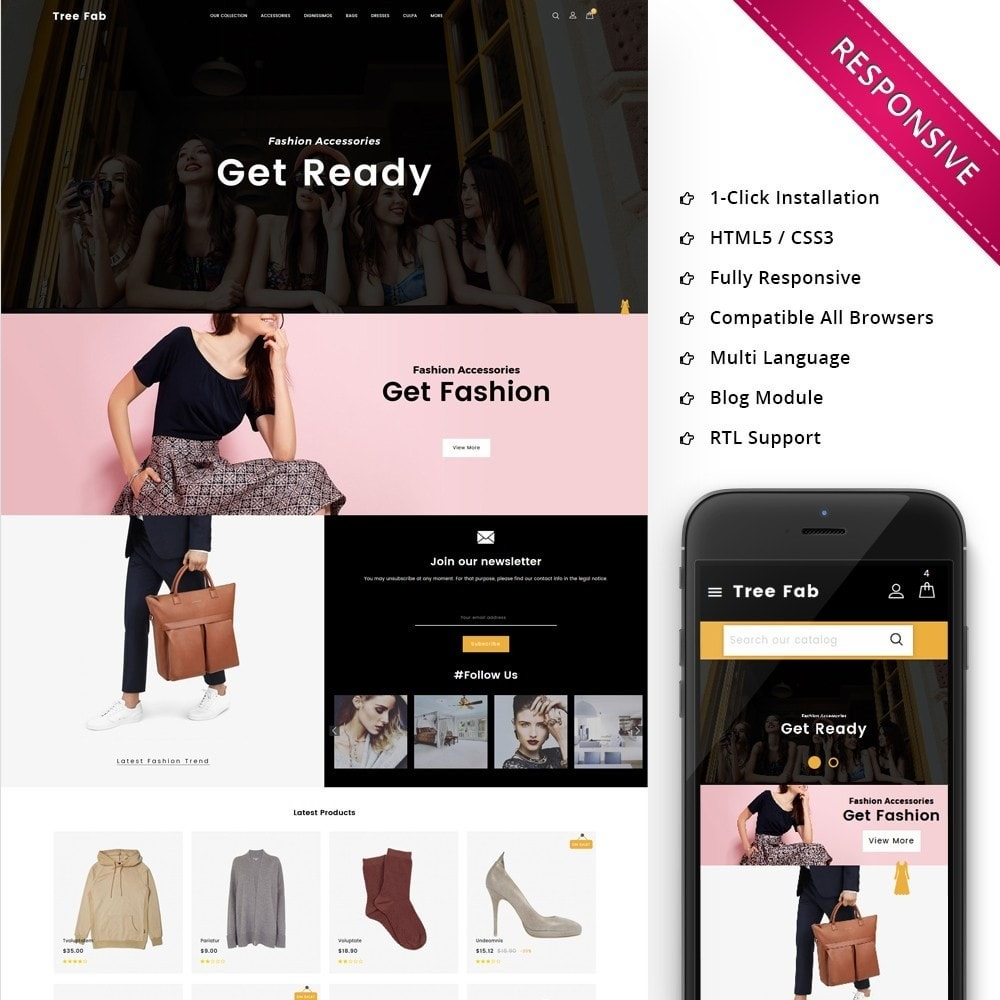 Treefab - The fashion Hub