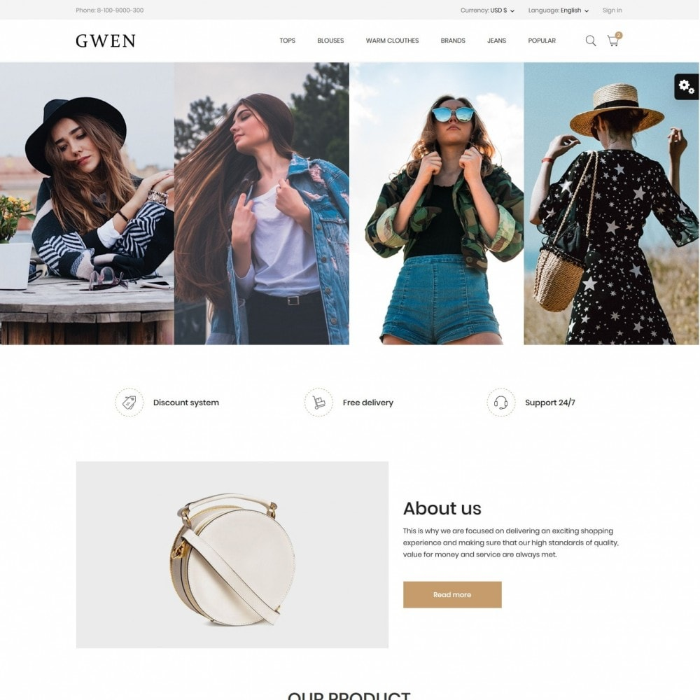 Gwen Fashion Store
