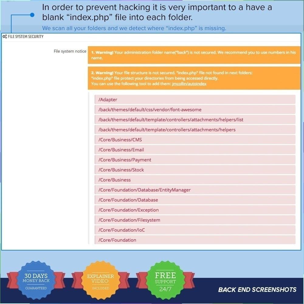module - Sécurité & Accès - Protection du magasin PRO/Anti-Piratage - 12