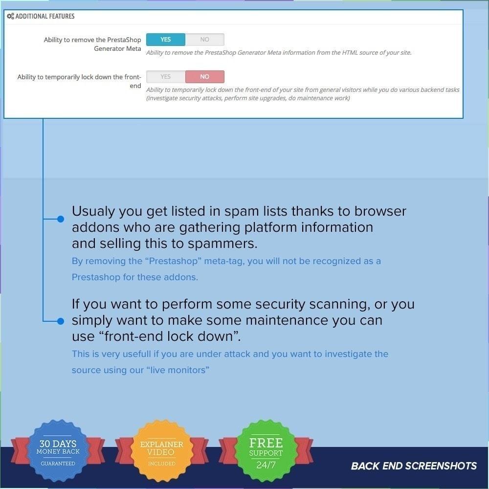 module - Seguridad y Accesos - Protector de Tienda PRO / Anti Fraude - 25