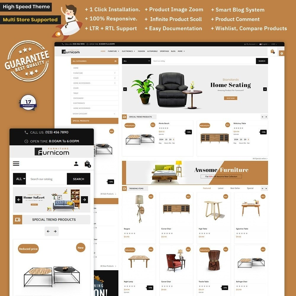 theme - Home & Garden - Furnicom – The Furniture Mega Mall - 1