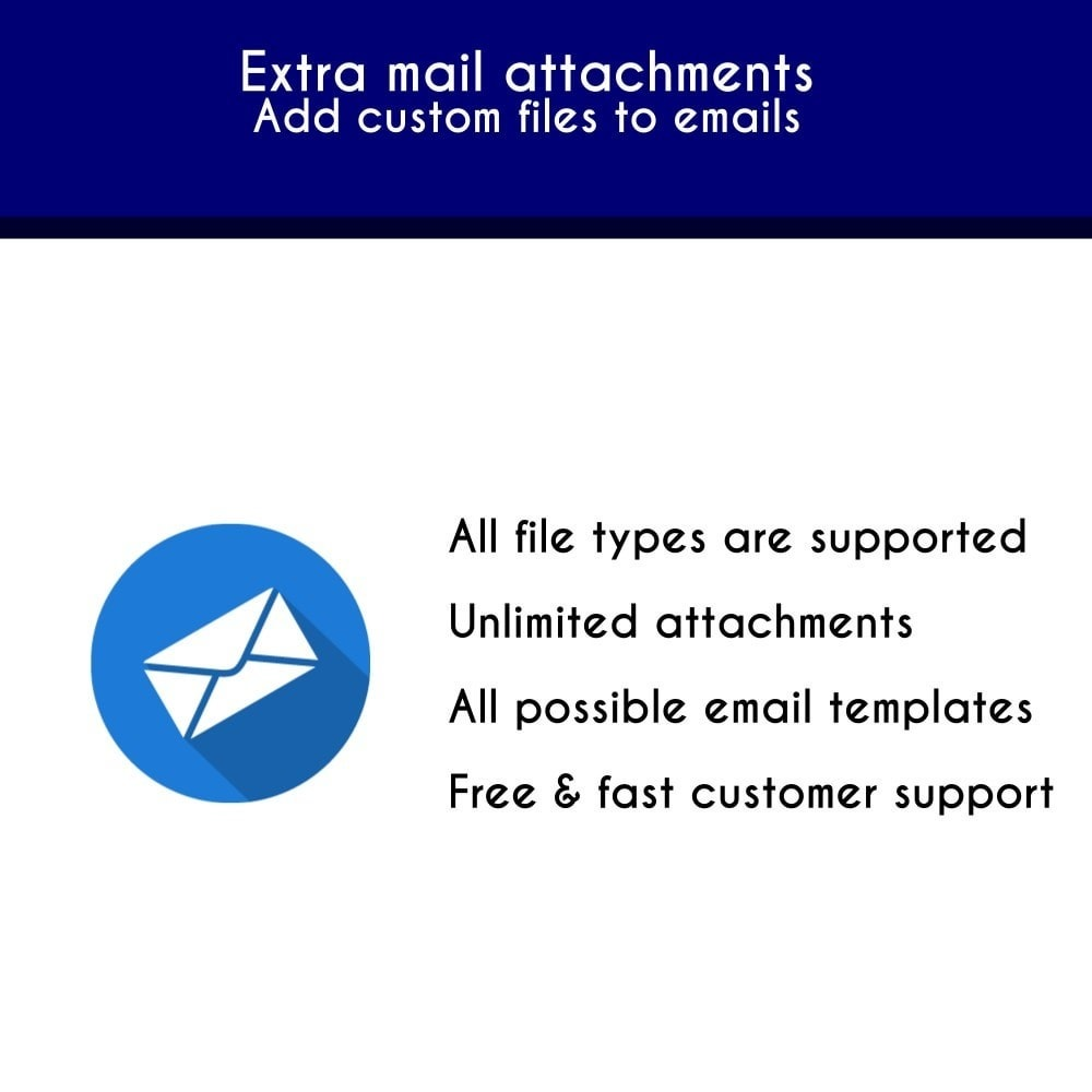 module - E-mails & Notícias - Extra mail attachments - Add custom files to emails - 1