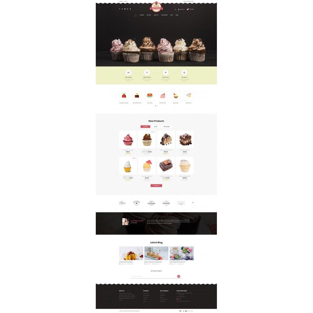 theme - Lebensmittel & Restaurants - Sweet Cupcakes Store - 2
