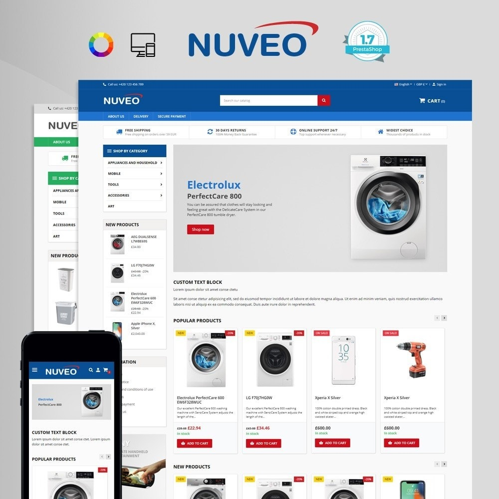 theme - Home & Garden - Nuveo - 1