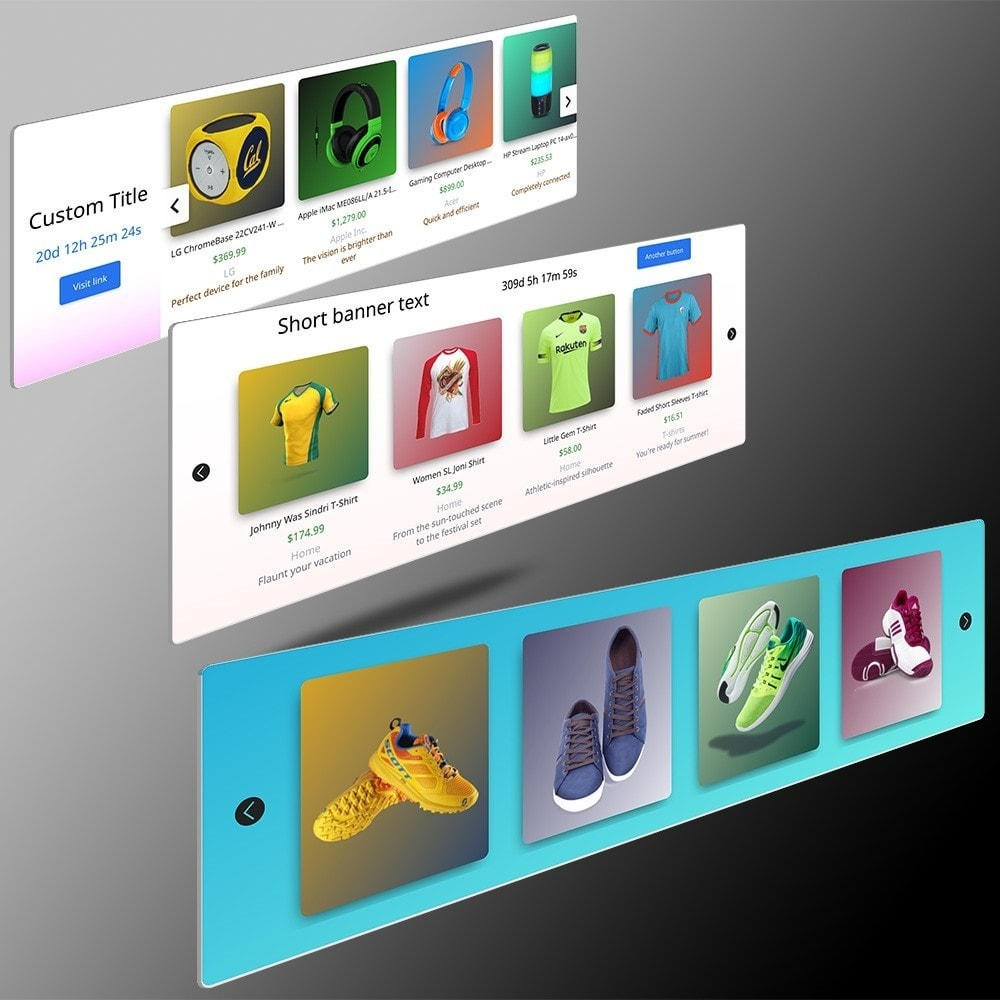 module - Products on Homepage - Color Magic Ultimate Products Sliders - 2