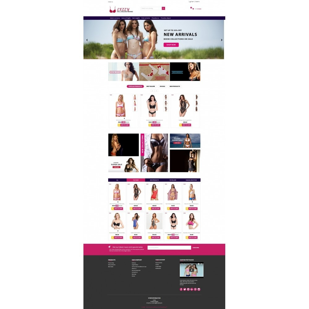 Lezzy - The Lingerie Multistore GB109