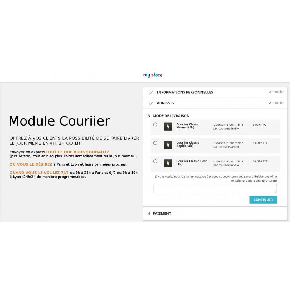 module - Transporteurs - Couriier - Livraison express par coursiers vélo - 1
